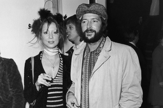 Pattie-Boyd-Eric-Clapton