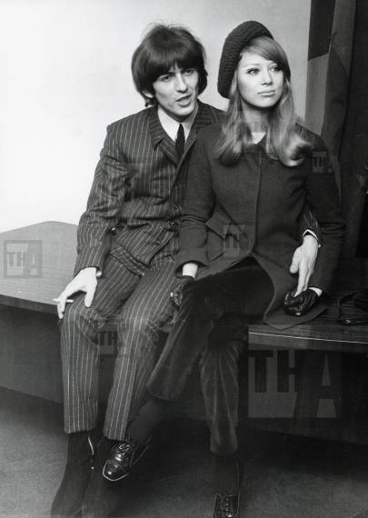 stock-photo-beatle-george-harrison-and-pattie-boyd-26615